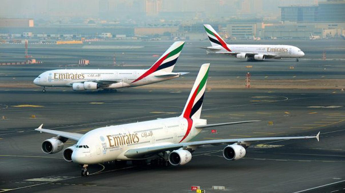 Emirates-A380-Triple-Launch-678×381