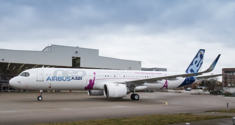 A321neo ACF Roll-Out