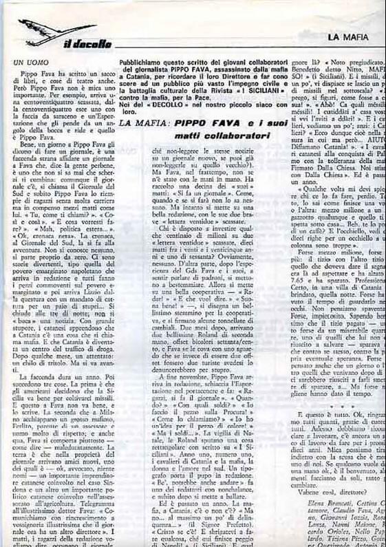 Decollo gennaio 1984 PippO Fava