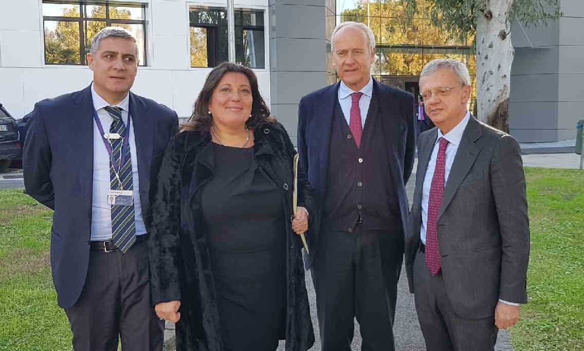 Pomigliano Leonardo delegazione M5S