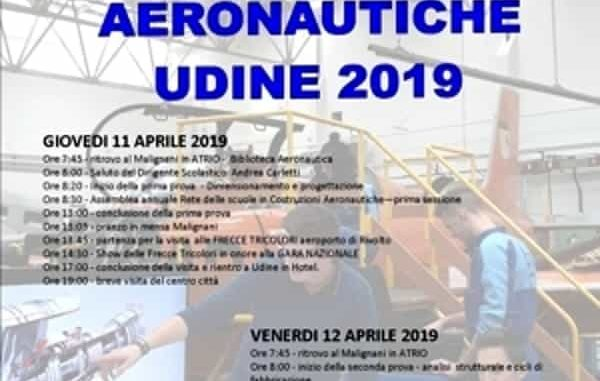 Costruttori aeronautici in gara al Malignani di Udine
