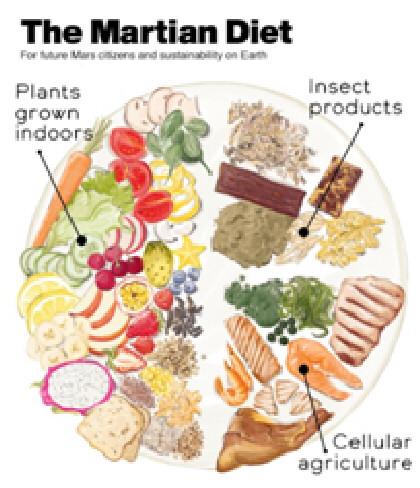 dieta spazio