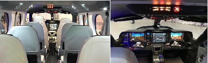 TECNAM P2012 interni