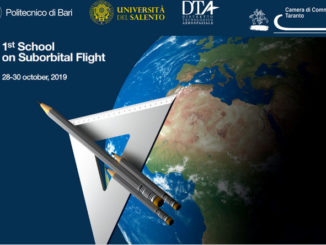 1st School on Suborbital Flight Foggia -Grottaglie