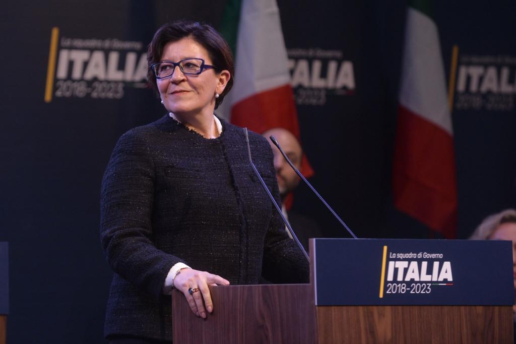 Ministra Difesa ElisabettaTrenta