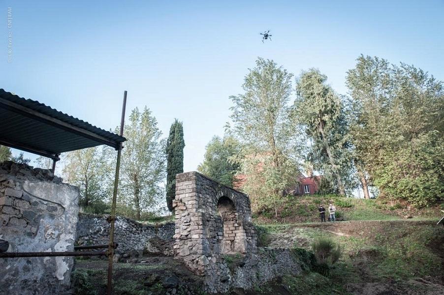 Pompei e i droni