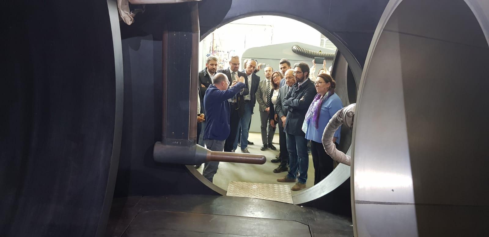 CIRA visita dei M5S