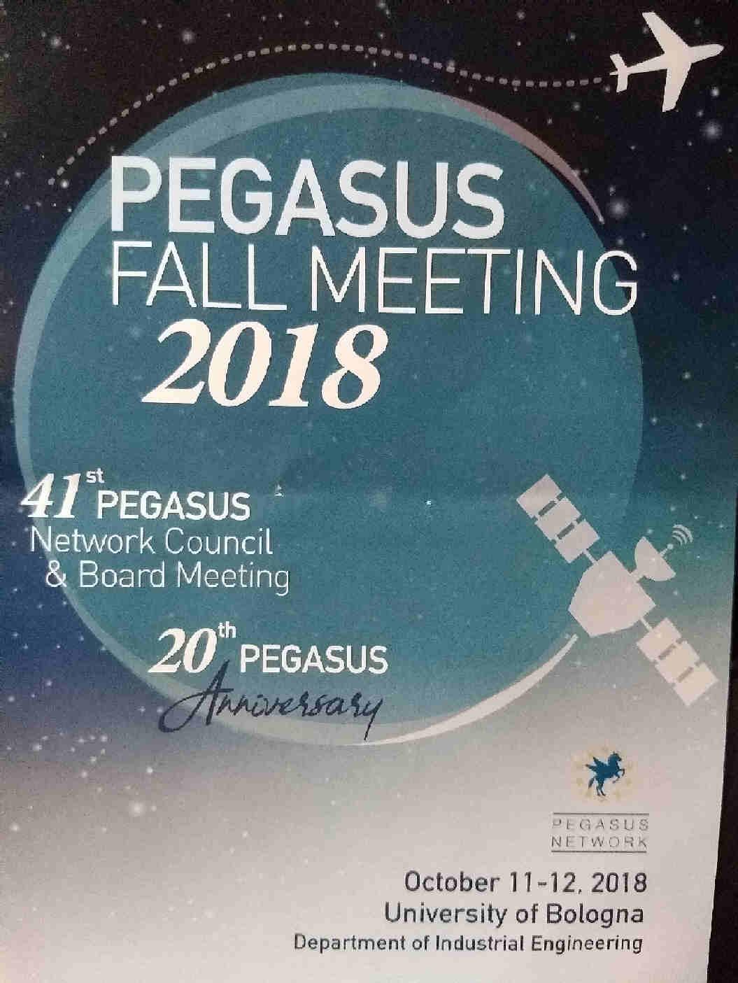Pegasus Meeting Bologna