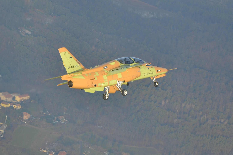 M345 1st Flight Venegono 21_12_18