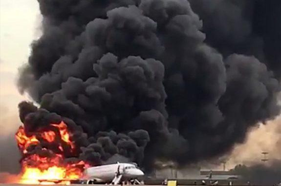 Superjet incidente Mosca