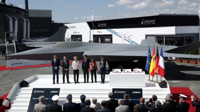 fighetr new generation Le bourget 2019