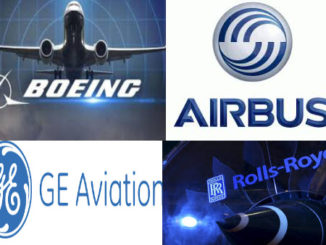 Boeing Airbus General Electric Rolls Royce