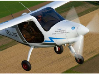 Pipistrel aereo elettrico